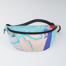 NAFSICA  FINDS ULYSSES Fanny Pack