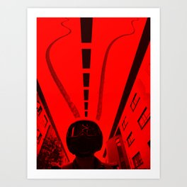 Inverted Ride Art Print