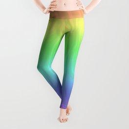 Groovy Pastel Rainbow Leggings