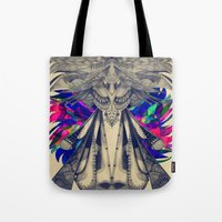 phoenix Tote Bags featuring PHOENIX by Galvanise The Dog