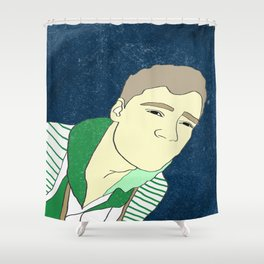 The Man Shower Curtain