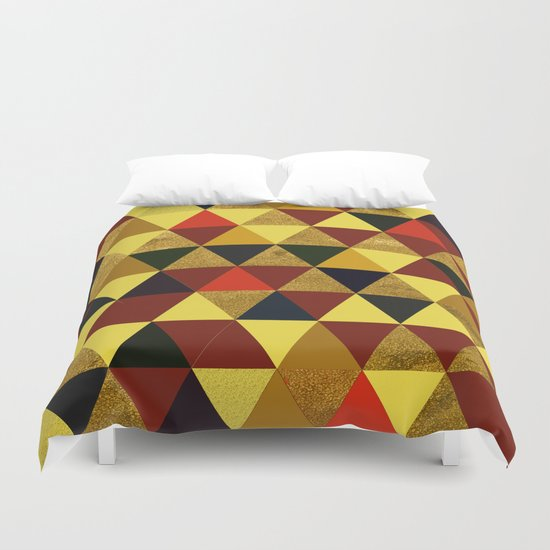Abstract #336 Duvet Cover