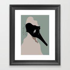 The Black Mask Collection 003 Framed Art Print
