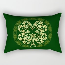 Celtic Carolans Rectangular Pillow