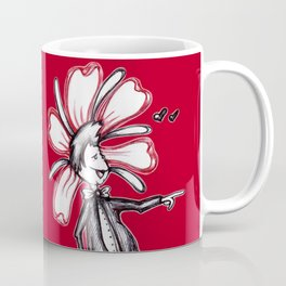"""It's You! I Love You!!"" Flowerkid Coffee Mug"