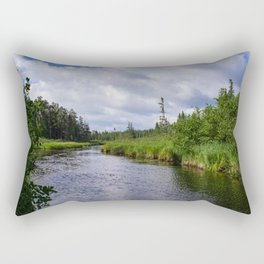 Boundary Waters Entry Point Rectangular Pillow