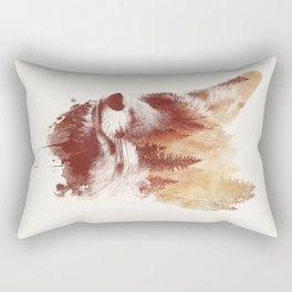 Blind fox Rectangular Pillow