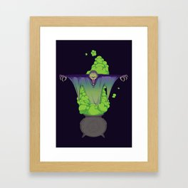 The summoning Framed Art Print
