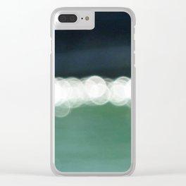 Sea Bokeh Clear iPhone Case