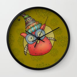 Kooky Puki Wall Clock
