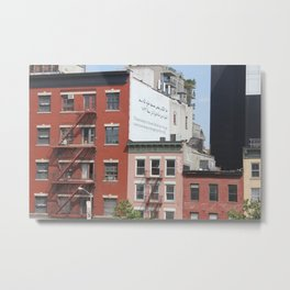 Chelsea Apartments Metal Print