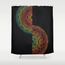 Fractal Horizon Shower Curtain