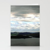 sweden Stationery Cards featuring lake sweden. by zenitt