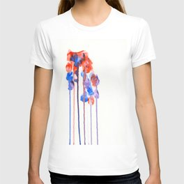 beneath falling petals T-shirt