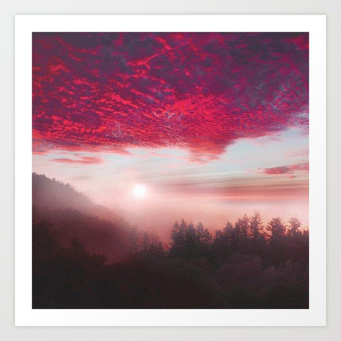 Pastel vibes 28 Art Print