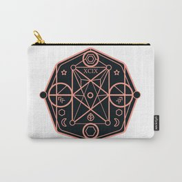 illustration of sacred geometry Carry-All Pouch