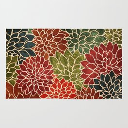 Floral Abstract 7 Rug