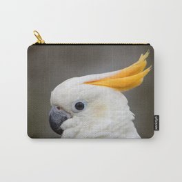 Sulfer crested cockatoo Carry-All Pouch