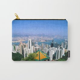 View on Victoria Harbour Hong Kong Carry-All Pouch