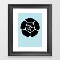 Brazil World Cup 2014 - Poster n°5 Framed Art Print