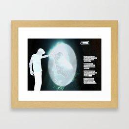 The Dreamer Poet Framed Art Print