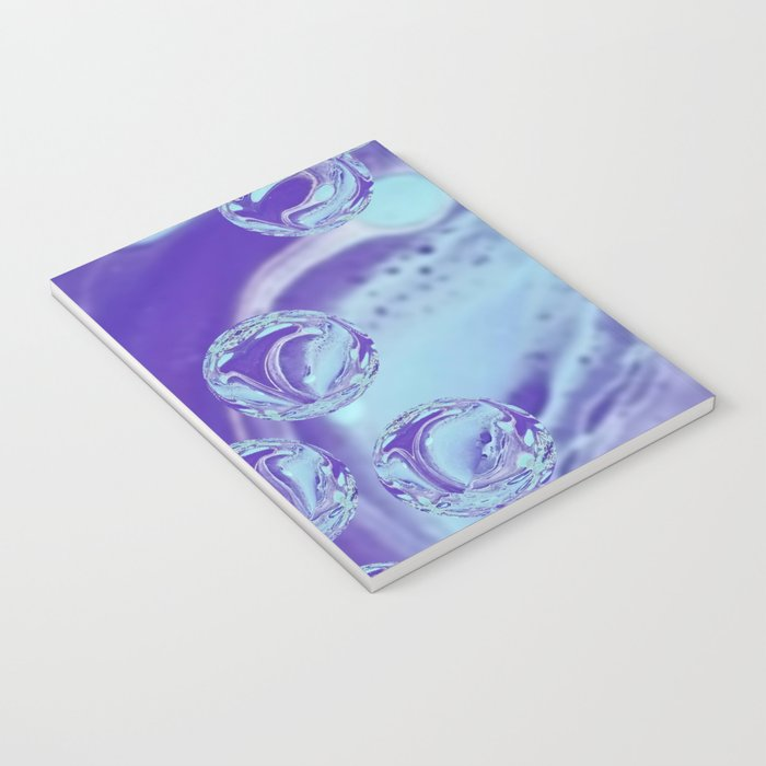 Raining Purple Notebook