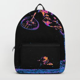 AIR TIME - Motocross Sports Art Backpack