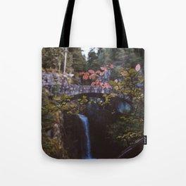 Nature Waterfall Tote Bag