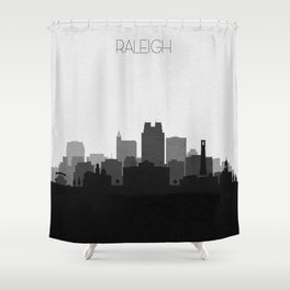 City Skylines: Raleigh Shower Curtain
