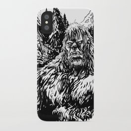 PACIFIC NORTHWEST SASQUATCH iPhone Case