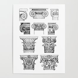 order of columns Poster