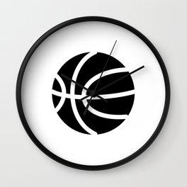 Basketball Ideology Wall Clock