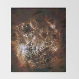 Large Magellanic Cloud, infared Throw Blanket