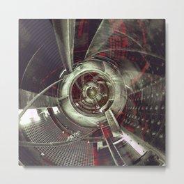 Industrial Space Metal Print