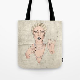 20s Lady Tote Bag