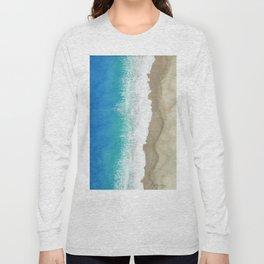 Coastline, Seagull's eye-view. Long Sleeve T-shirt