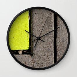 Sidewalk Wall Clock