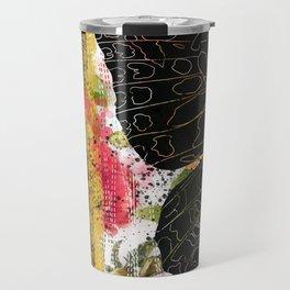 In Flight - Butterfly - Digital Art Travel Mug