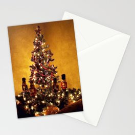 Olde Time Yule Tree Stationery Cards