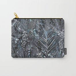 Busy Forest Print Carry-All Pouch