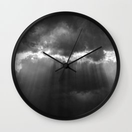 Black Light Wall Clock