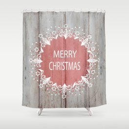 Merry Christmas #2 Shower Curtain