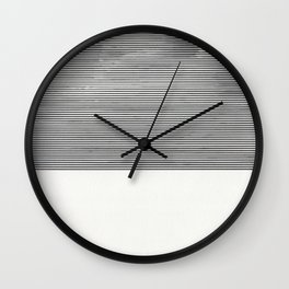 Cloud Diagram Wall Clock