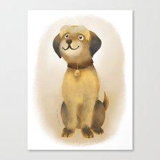 Charlie Dog Canvas Print