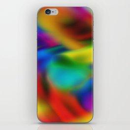 Multicolor Sea iPhone Skin