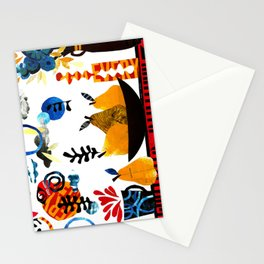 'still-life with pears ...' Stationery Cards