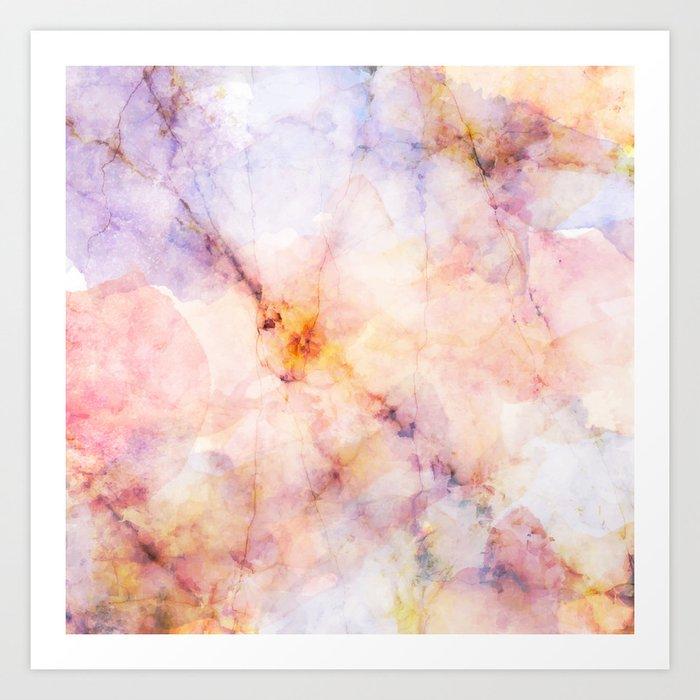 Marble Art 22 #society6 #buyart #decor Art Print