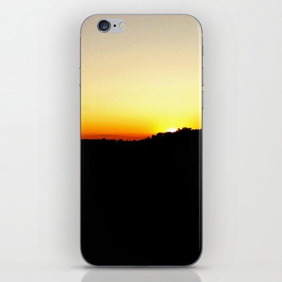 Warm Sunset iPhone & iPod Skin