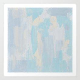 Crystallization № 1 Art Print