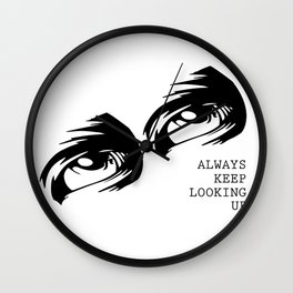 Eyes on the Prize Wall Clock